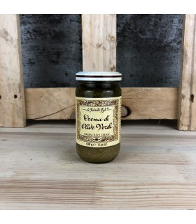 Crema di olive verdi 180g