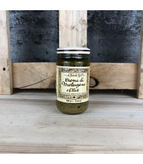 Crema di melanzane ed olive...