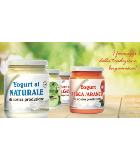 Yogurt Naturale Fragola 200g