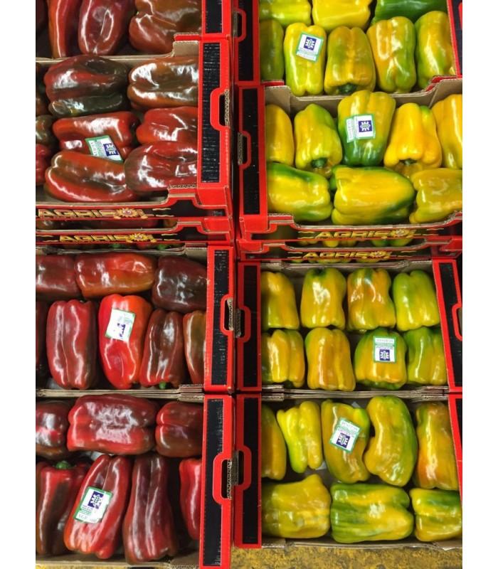 Peperoni rossi e gialli Sicilia 3,5 Kg